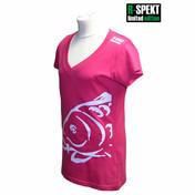 R-Spekt Tričko Lady Carper růžové -   vel. M