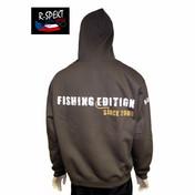 R-Spekt Rybářská mikina s kapucí R-Spekt Fishing edition - | vel. L