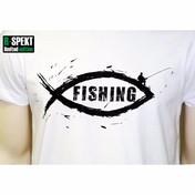 R-Spekt Tričko Fishing - | vel. L