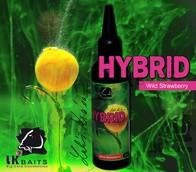 LK Baits Hybrid Activ 100ml - | Wild Strawberry