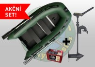 "Seafox Člun STK300 + motor Minn kota Traxxis 55V 36"" + baterie 12V105AH"