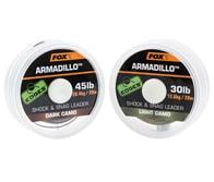 Fox Šoková šňůra Edges Armadillo 20m - Dark Camo 65lb