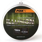 Fox Fluorocarbon Illusion Mainline Trans Khaki - 0.39mm 19lb/8.64kg 200m