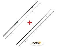 NGT Prut Dynamic Margin Stalker - 9ft, 2pc, 2.5lb