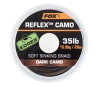 Fox Šňůra Edges Reflex Camo 20m - Dark camo 25lb