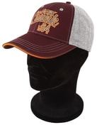 Fox Kšiltovka Chunk Grey/Burgundy/Orange Baseball Cap