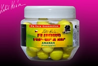 LK Baits Pop-Up Fluoro Pineapple 14 mm 150ml + dip