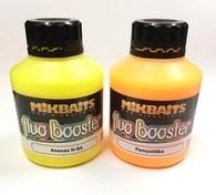 Mikbaits Extra silný dip Fluo Booster 250ml Broskev Black pepper