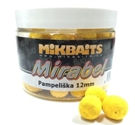 Mikbaits Fluo boilie Mirabel 12mm 150ml