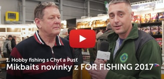 Hobby fishing s Chyť a Pusť - Mikbaits novinky z FOR FISHING 2017