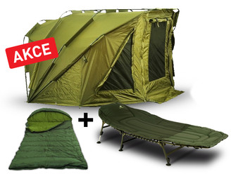 Giants Fishing Bivak SPX Plus Bivvy 2 Man + lehátko + spací pytel!